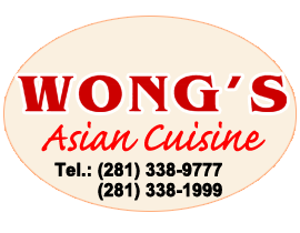 Wong S Asian Cuisine Restaurant League City Tx 77573 Menu